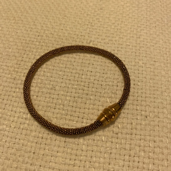 Fossil Jewelry - Fossil Rose Gold Bracelet